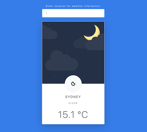 the weather-app
